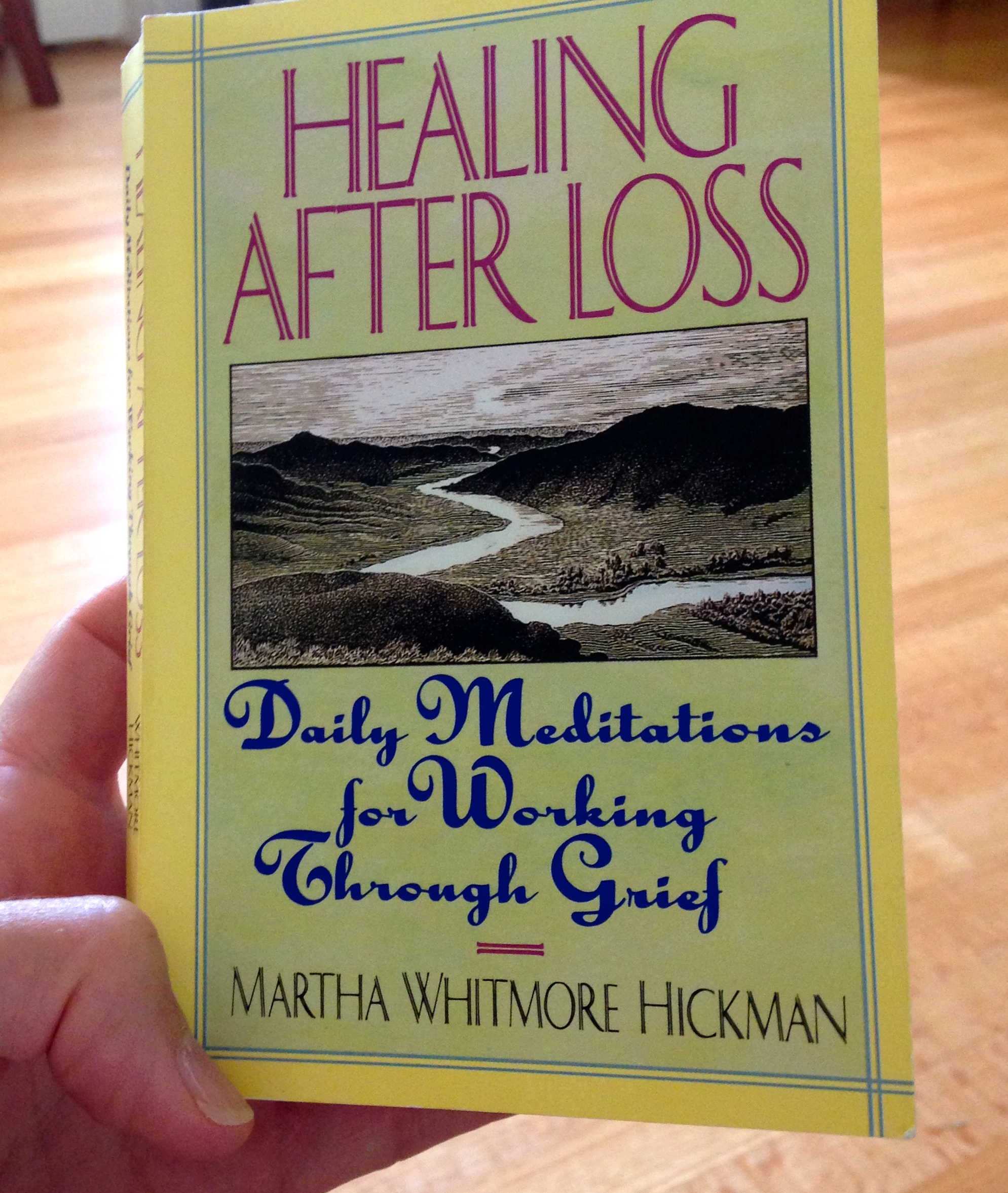 Healing After Loss book cover