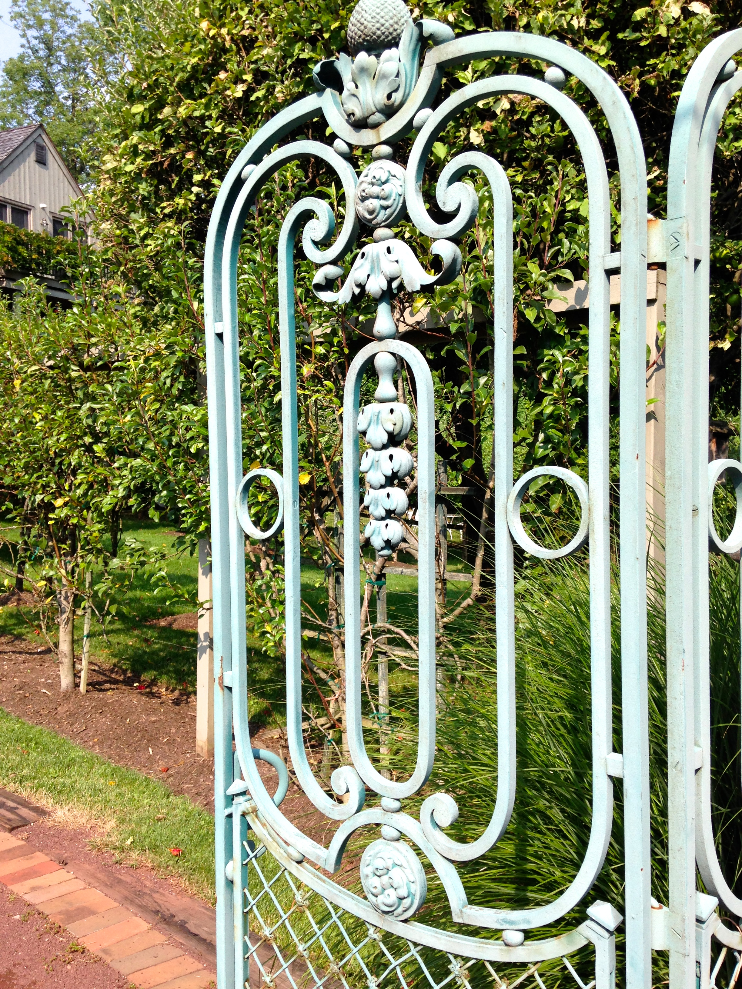Welcome to Buck's County green gate