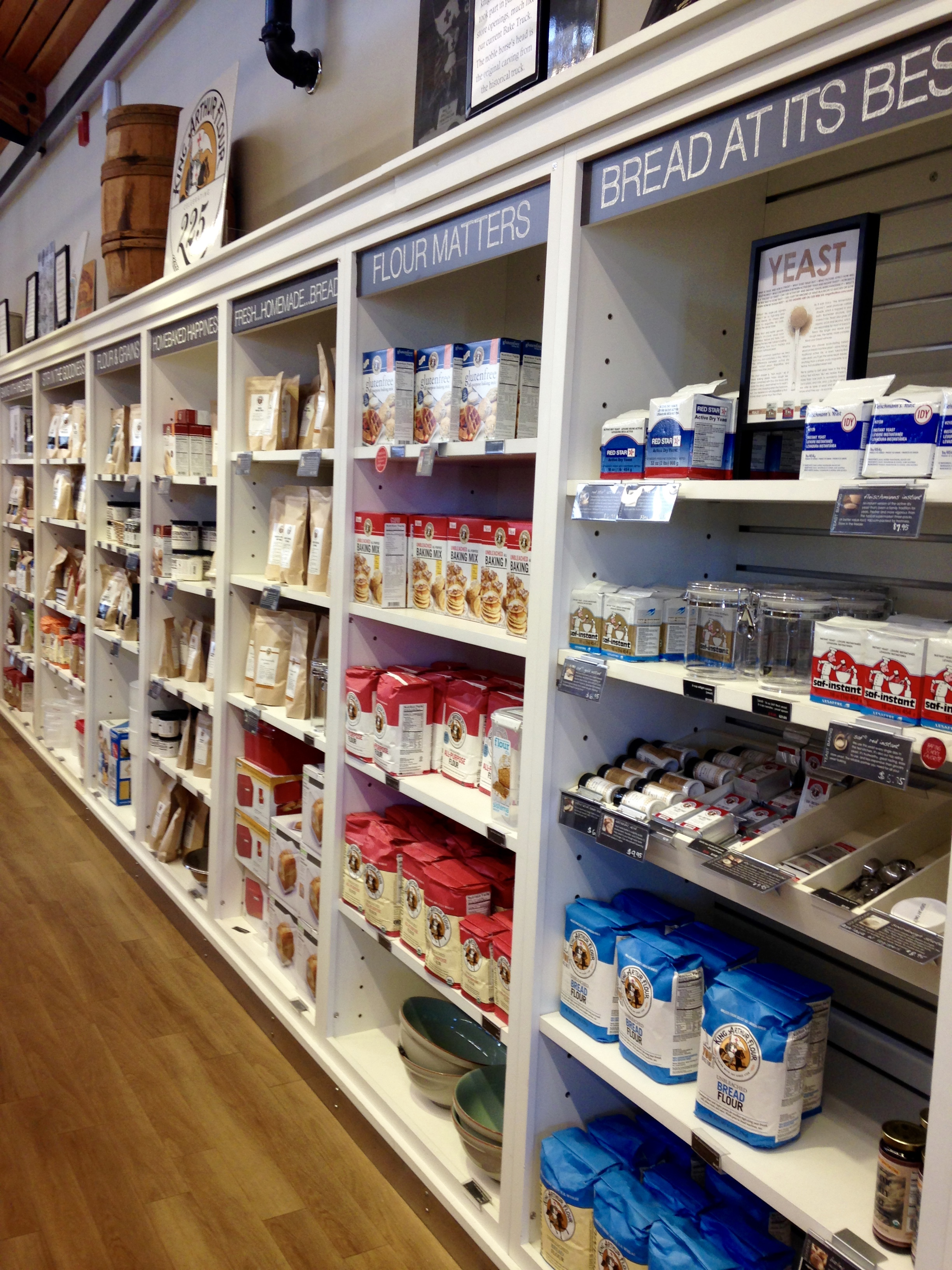 the store has everything from appliances to extracts and all gadgets and ingredients in between