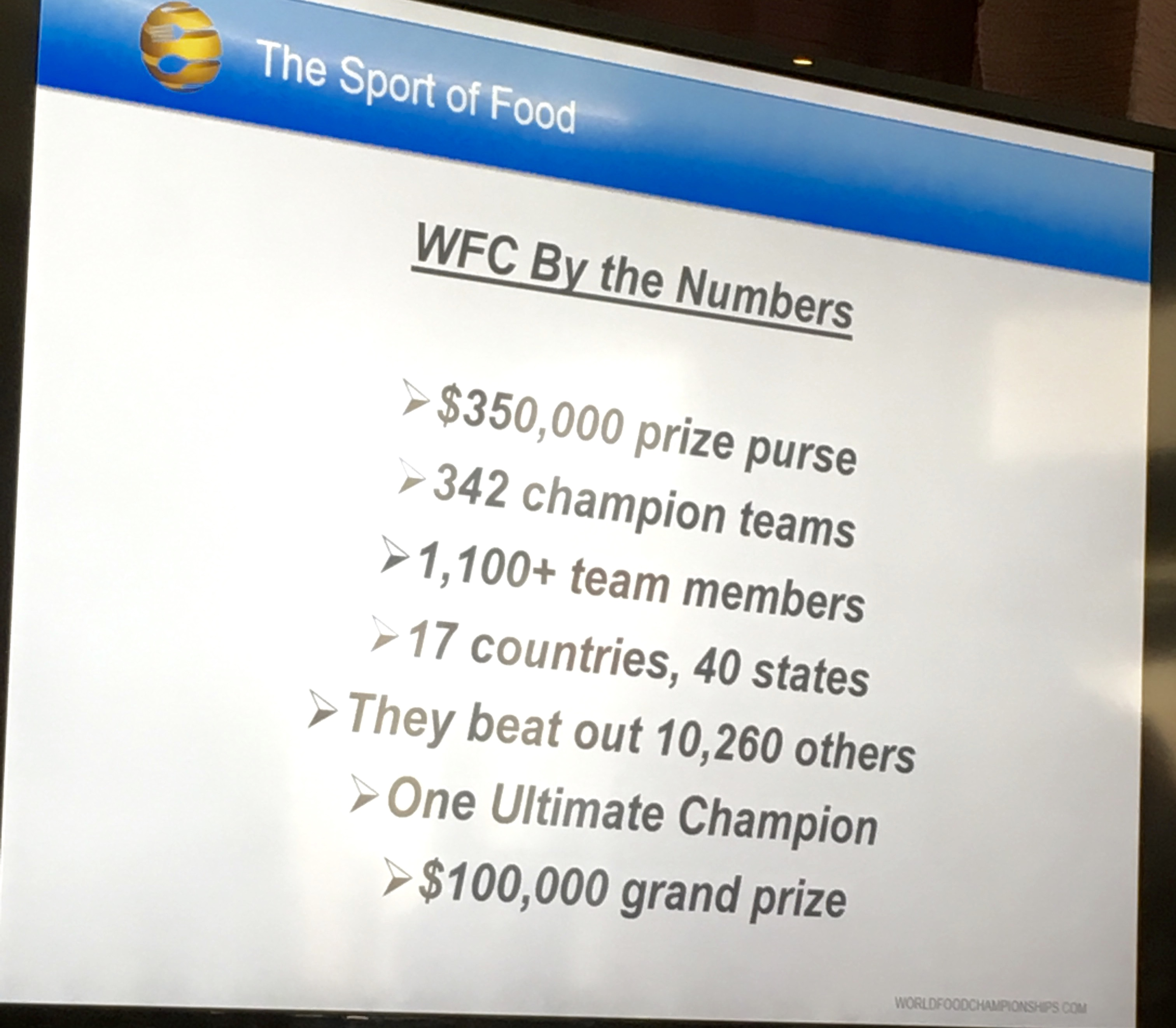 WFC by the numbers data