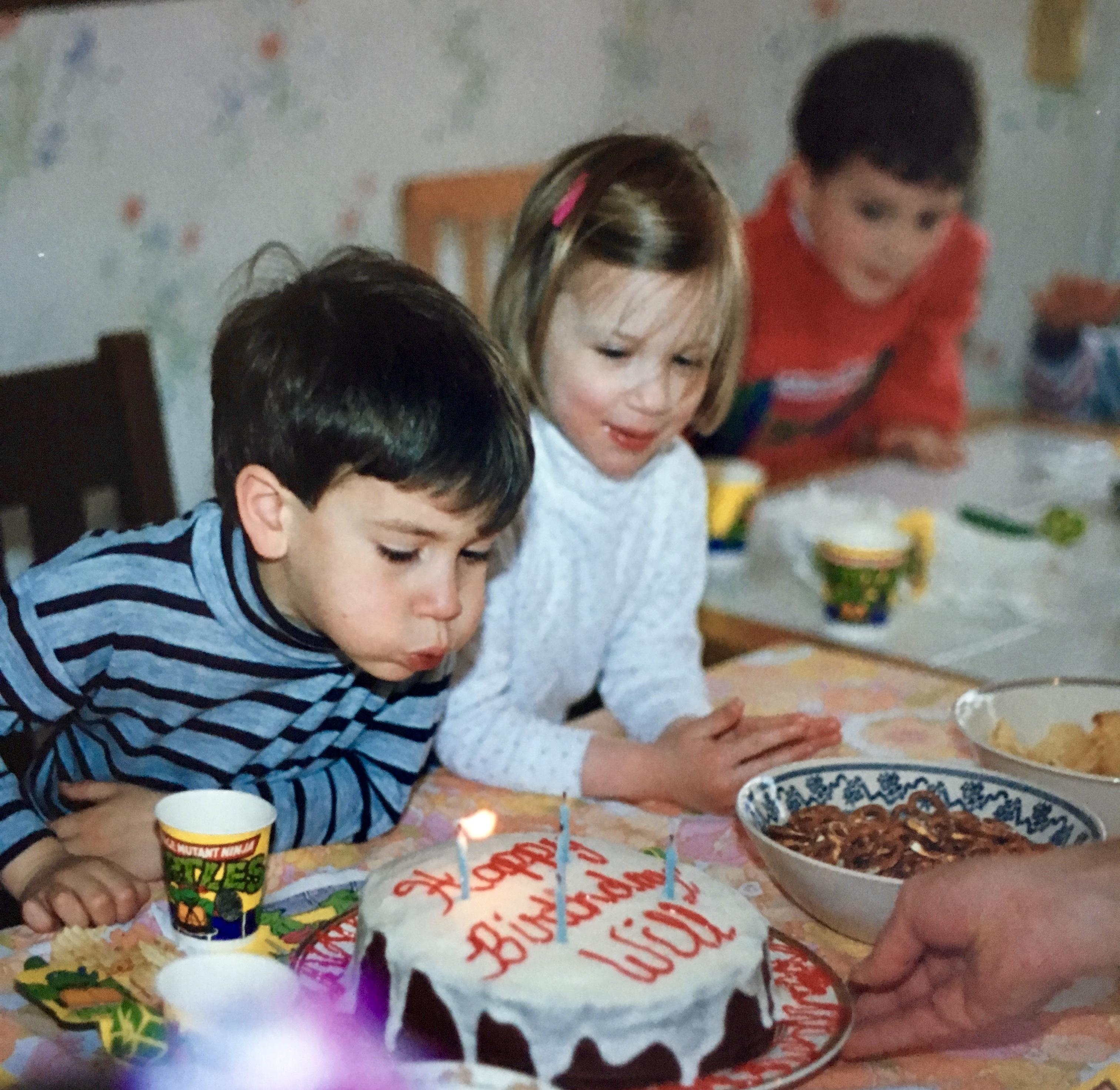 Will at his birthday