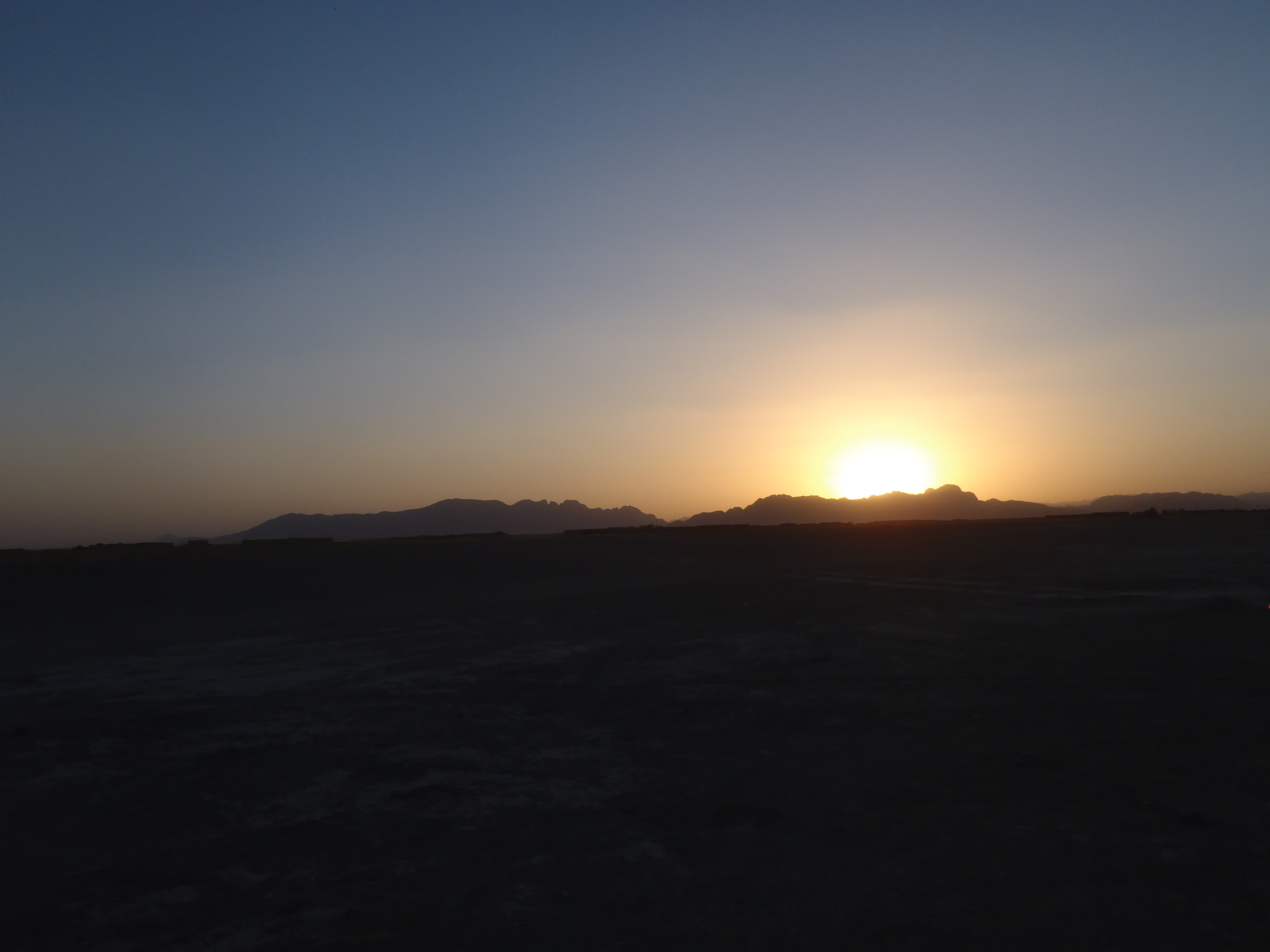 sunrise in Afghanistan