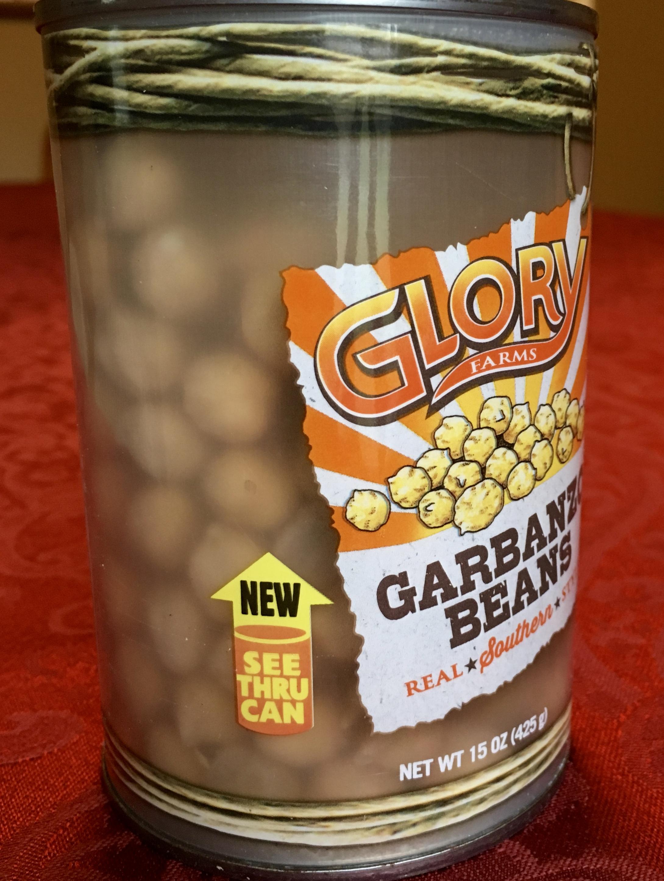 garbanzo beans jar