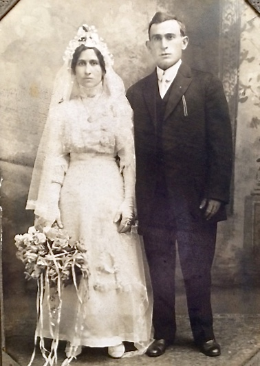 old photo of my grandparents
