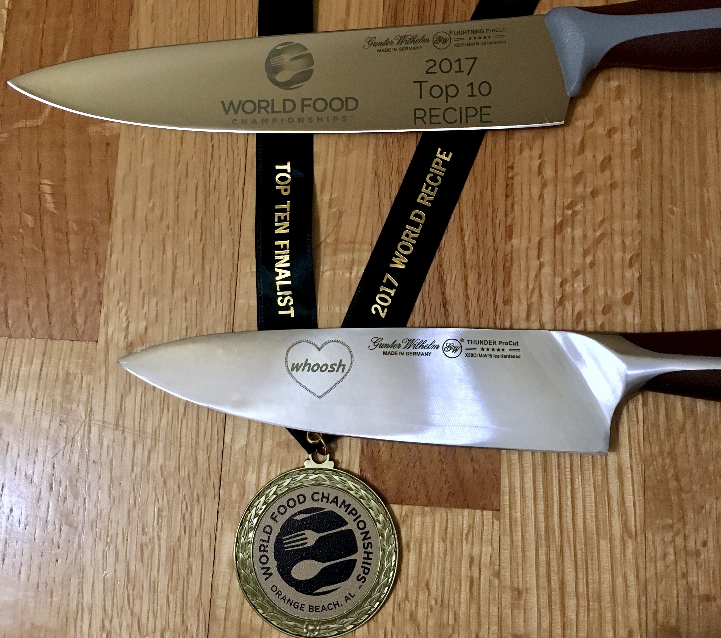 chef knives and medalist