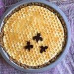 Elderberry Honeycomb Cream Pie