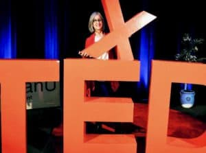 TEDx logo and me