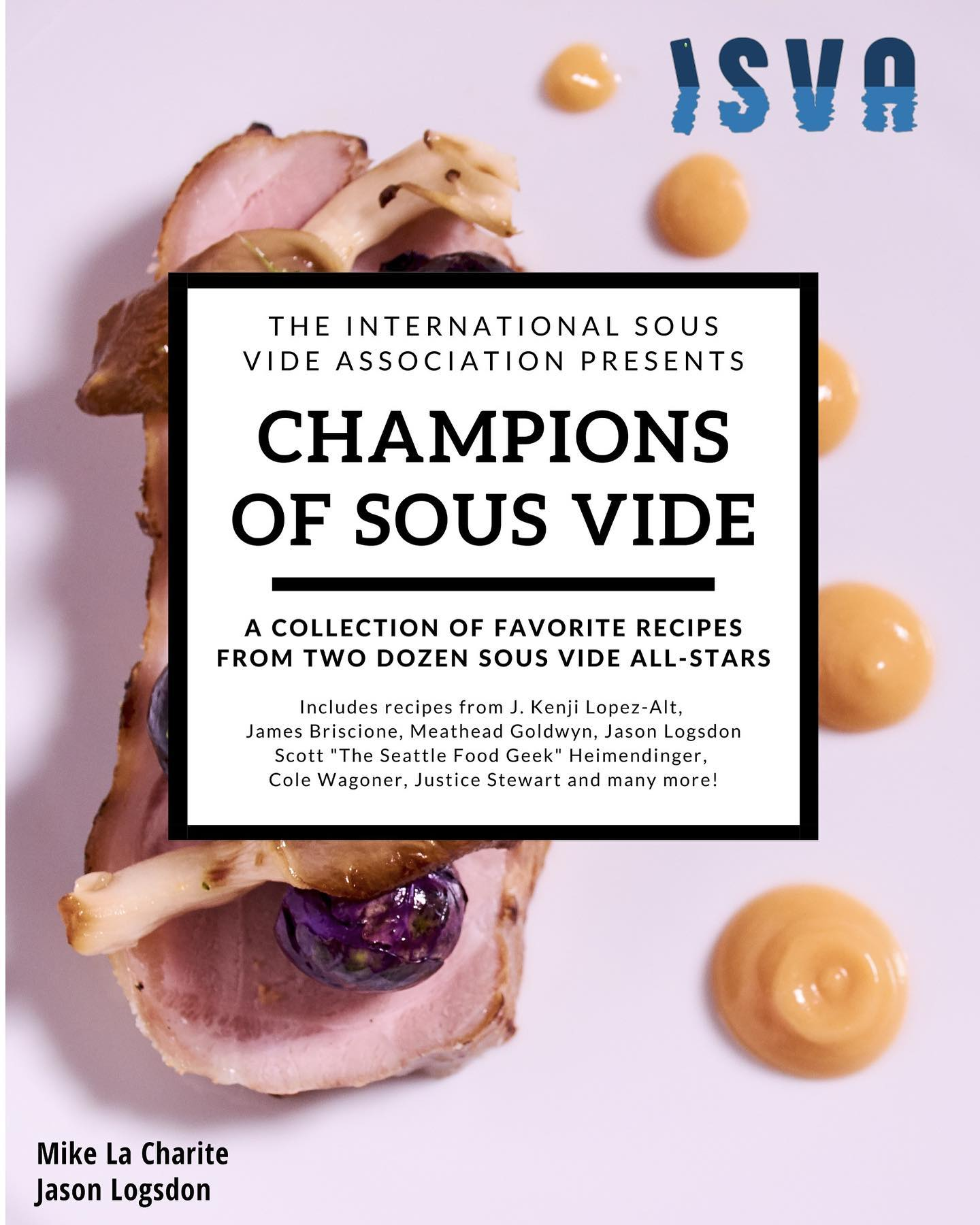 Champions of Sous Vide cookbook cover