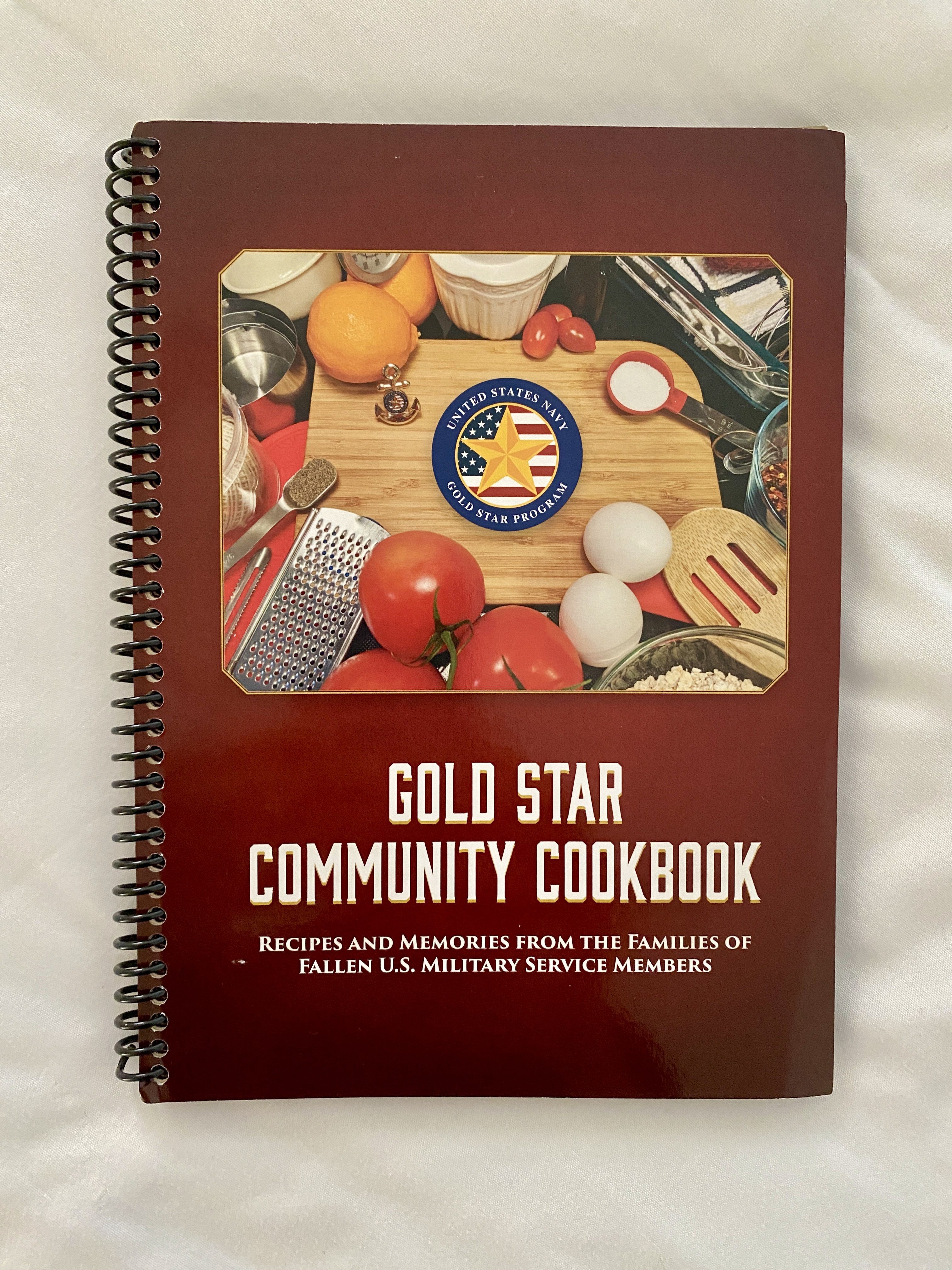 Gold Star Community cookbook cover