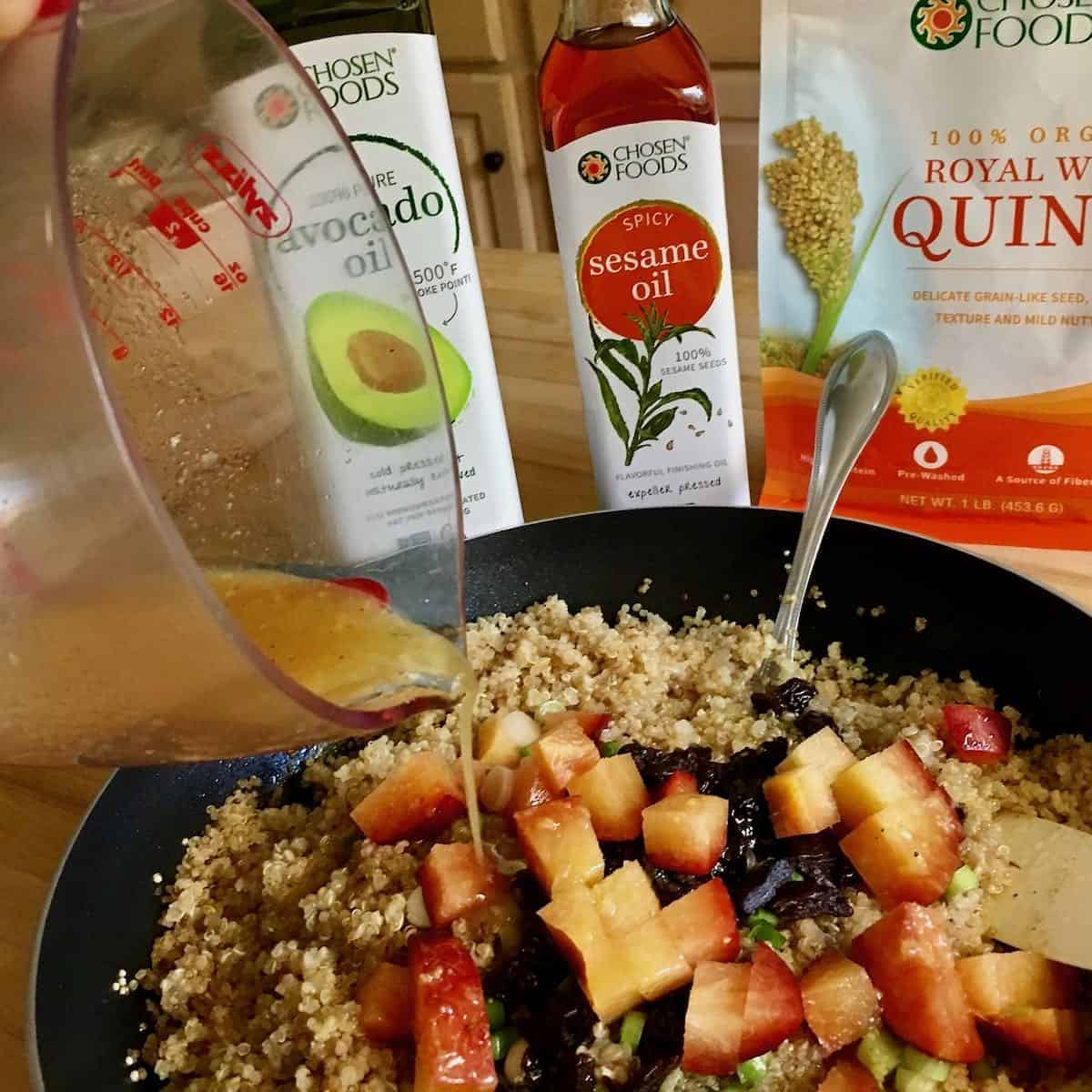 quinoa fruit salad ingredients