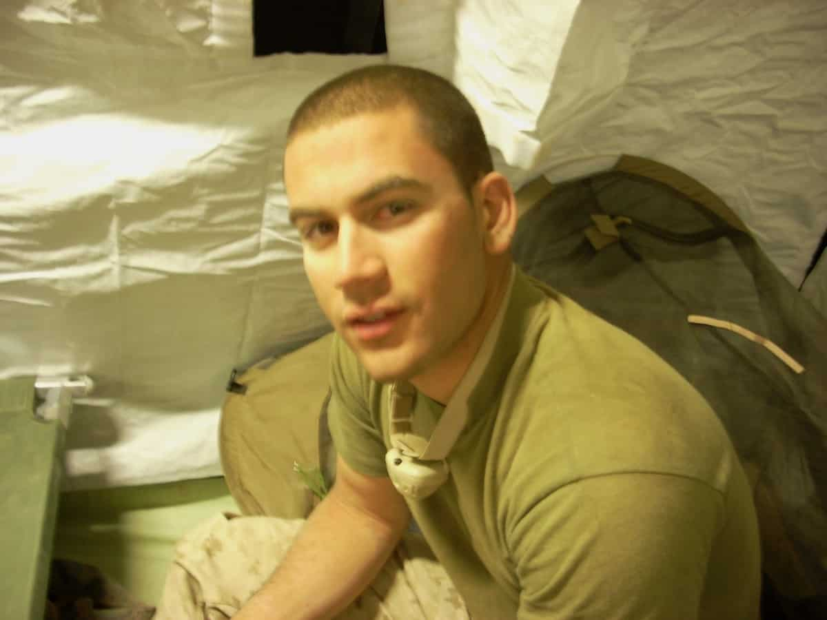 my son in Afghanistan