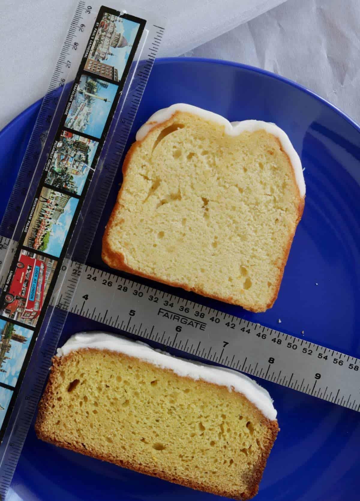 lemon cake size comparison