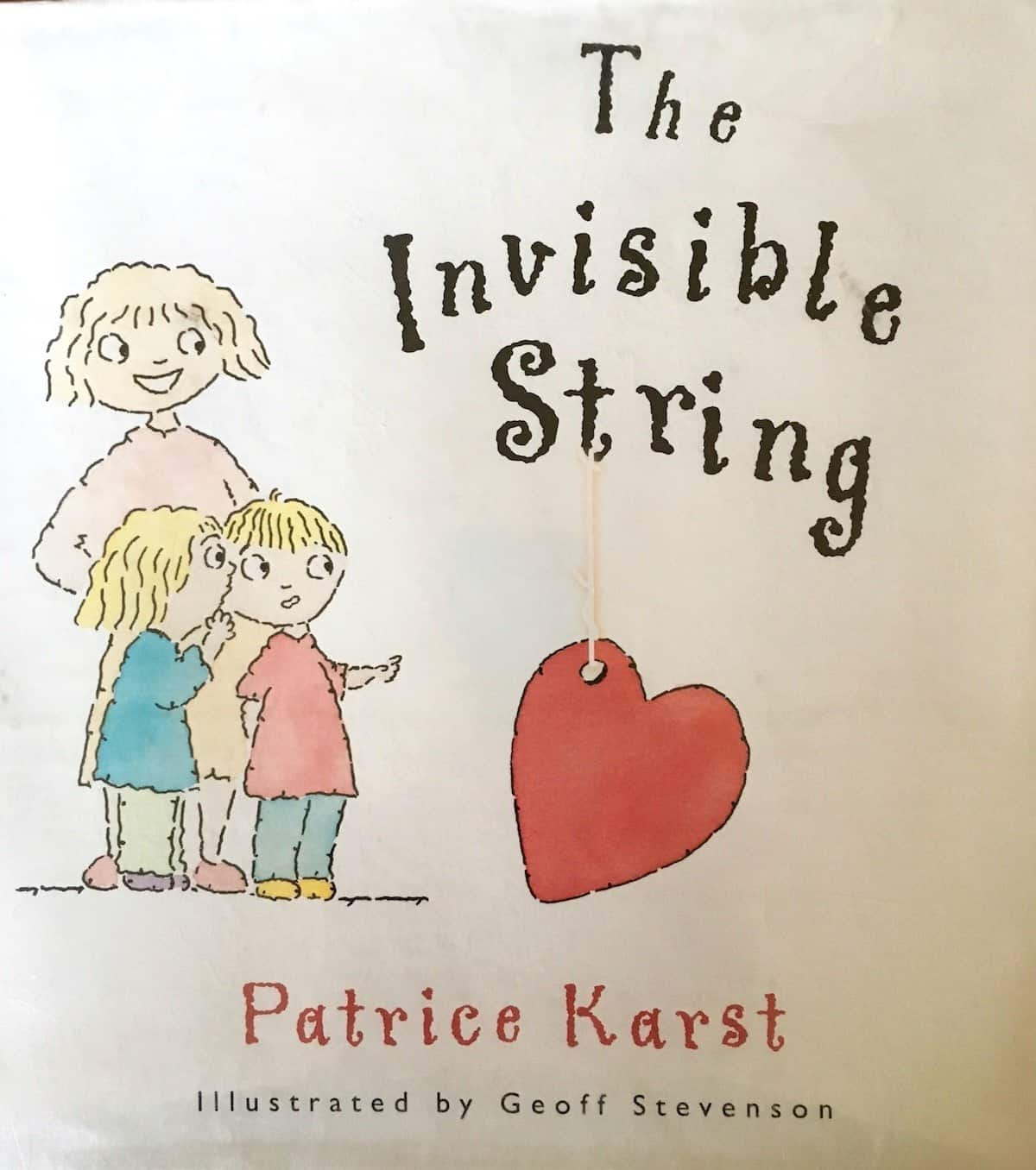 The Invisible String book cover a grief moment in time
