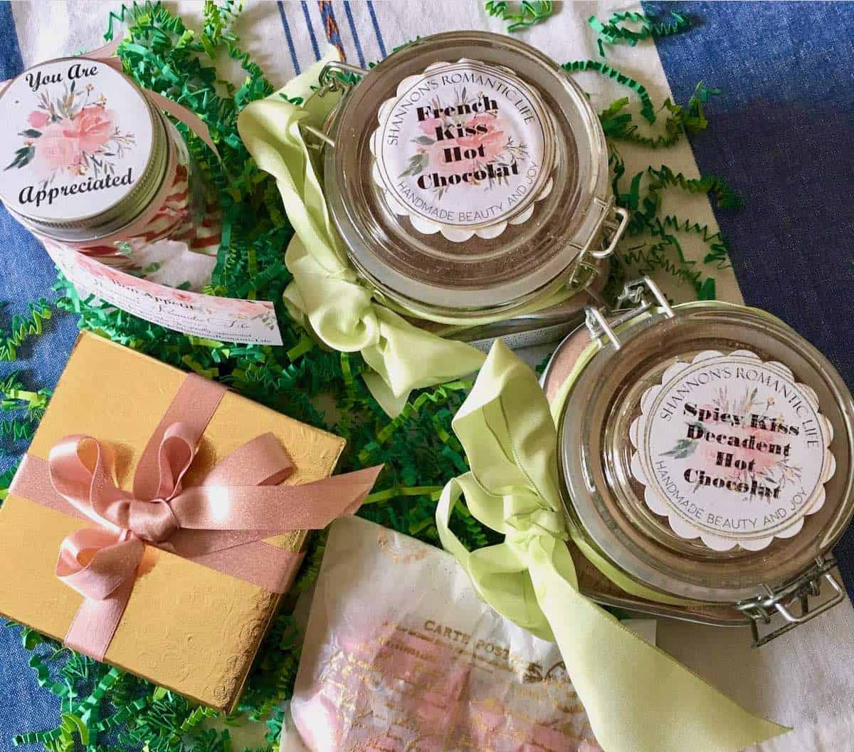 jars of cocoa gifts