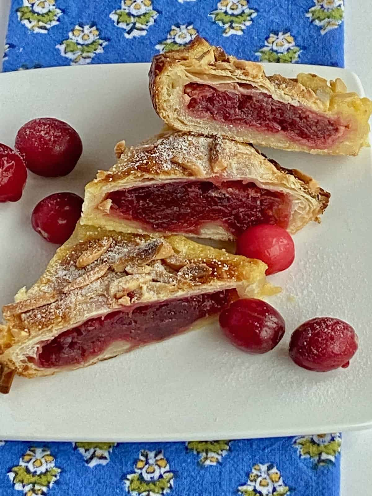 The Best Cranberry Crème Brûlée Breakfast Pastry