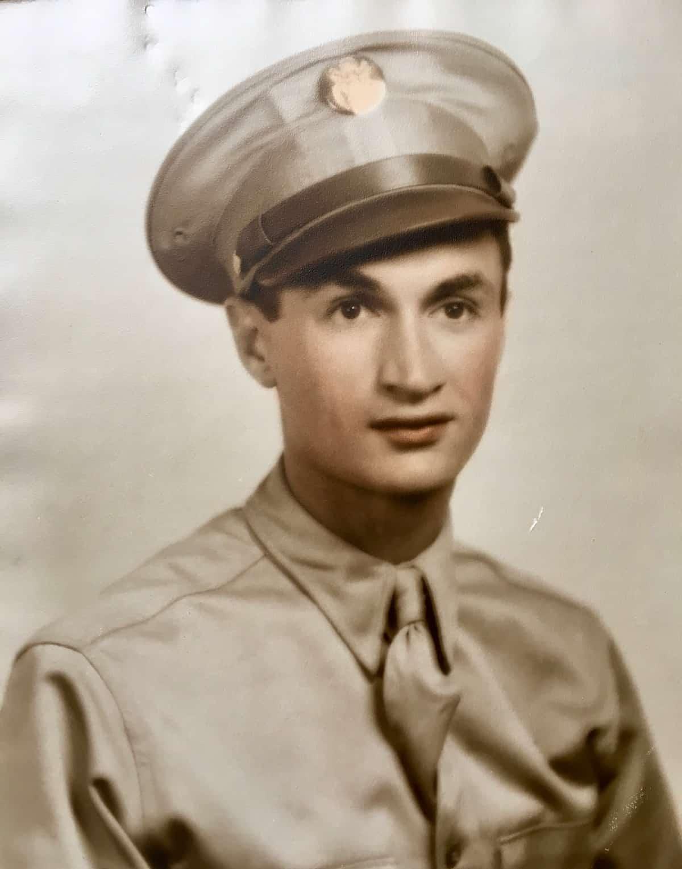 my dad in uniform