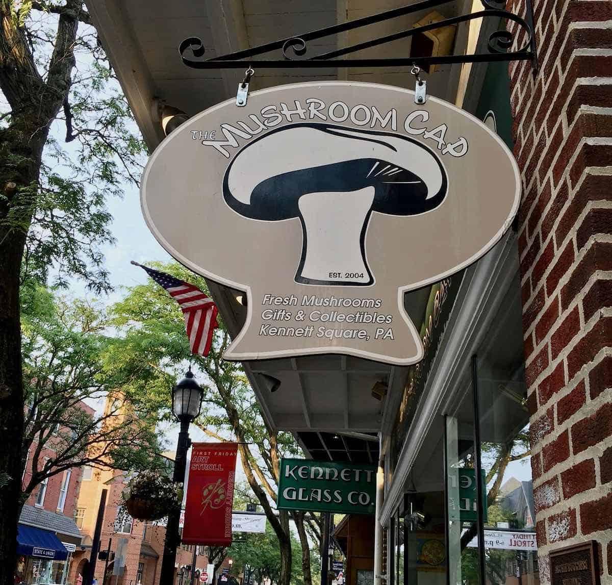 Mushroom Cap sign