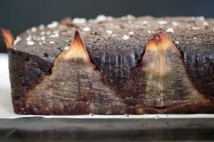 salted pear chocolate pound cake