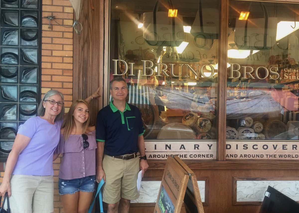 Di Bruno Bros. market is part of the fun Philly market tour