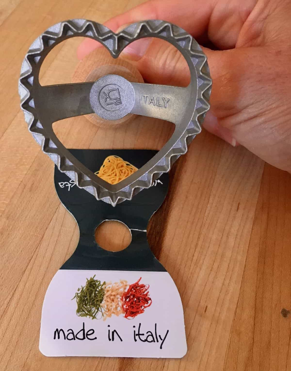 heart shaped ravioli cutter