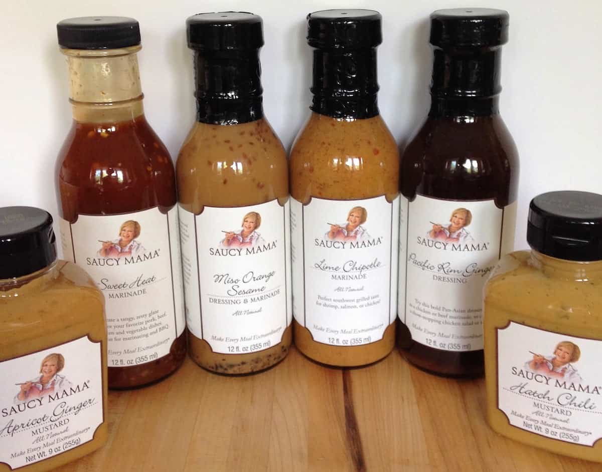 turning the tables to judge thanks to Saucy Mama products