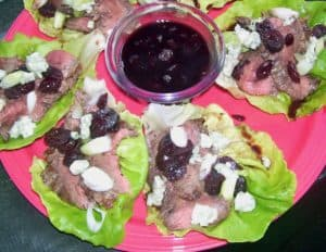 Boston Style Steak & Wine Wraps