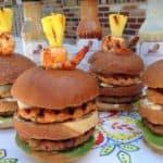 Saucy Mama Island Hopping Burger