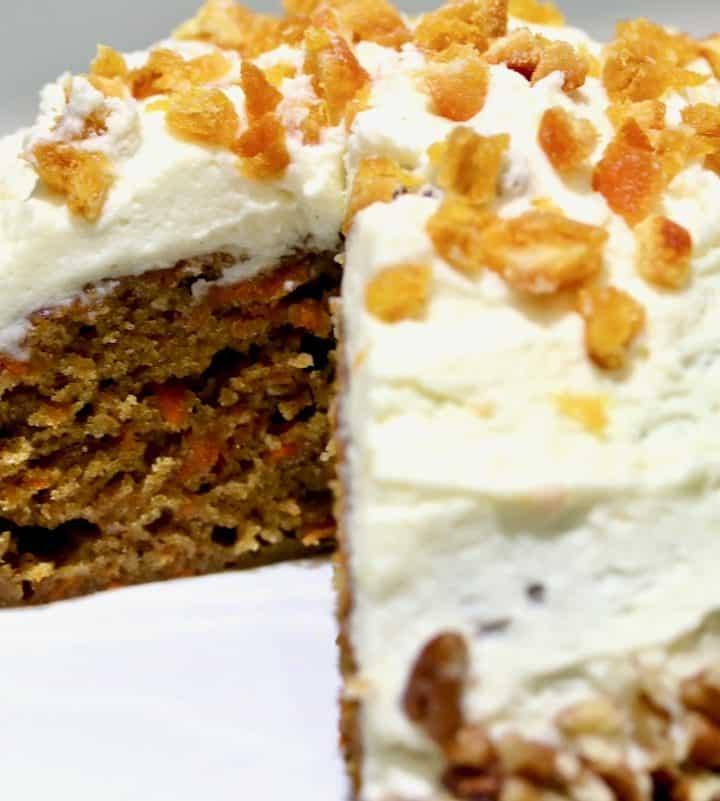 sous vide carrot cake