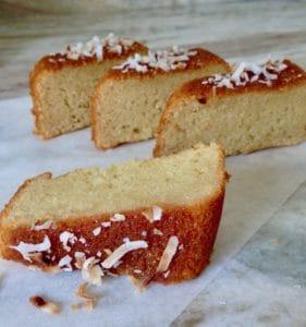 dulce de leche coconut cake