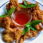 Crispy Coconut Oyster Mushrooms with Sweet Asian Chili Sauce