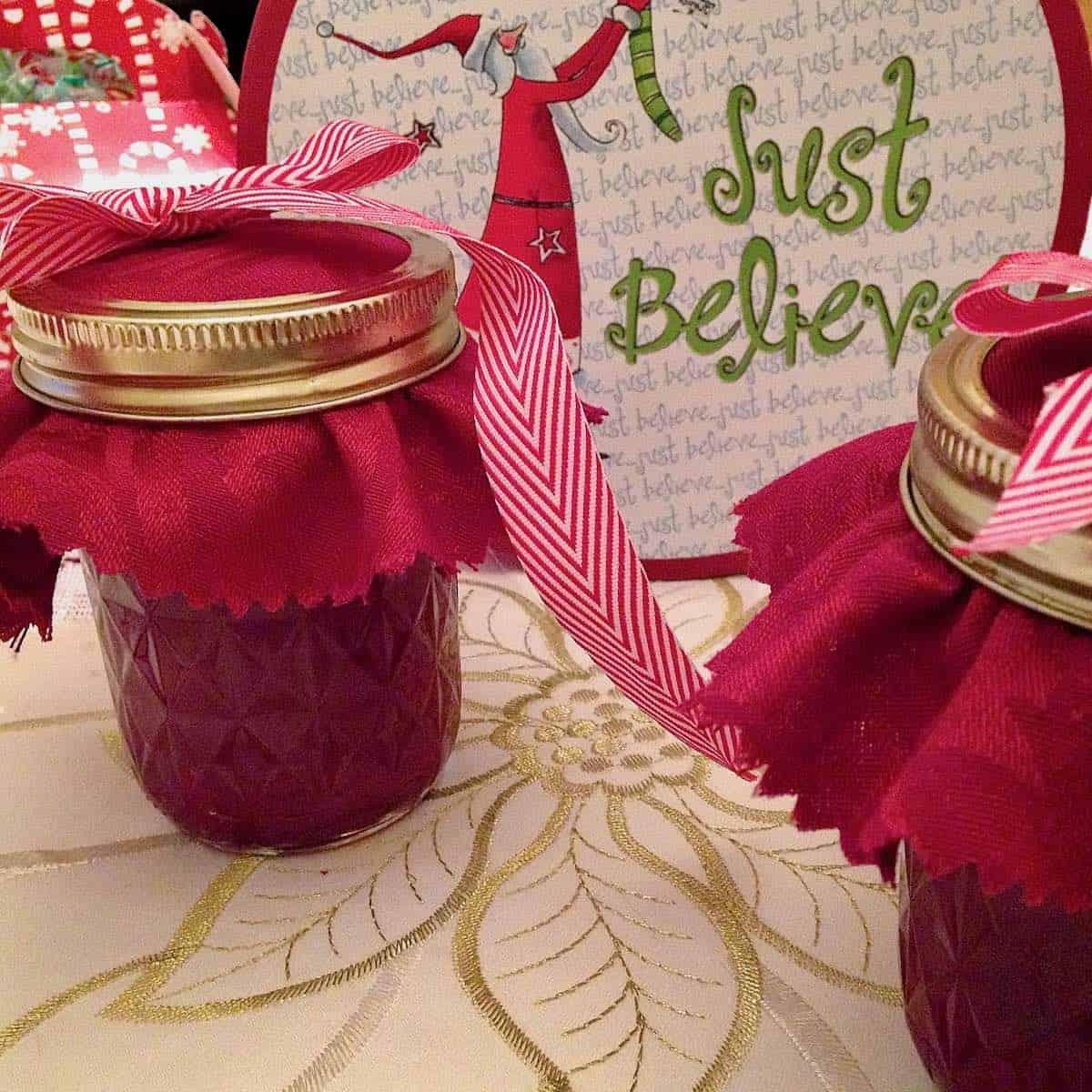 festive cranberry apple relish