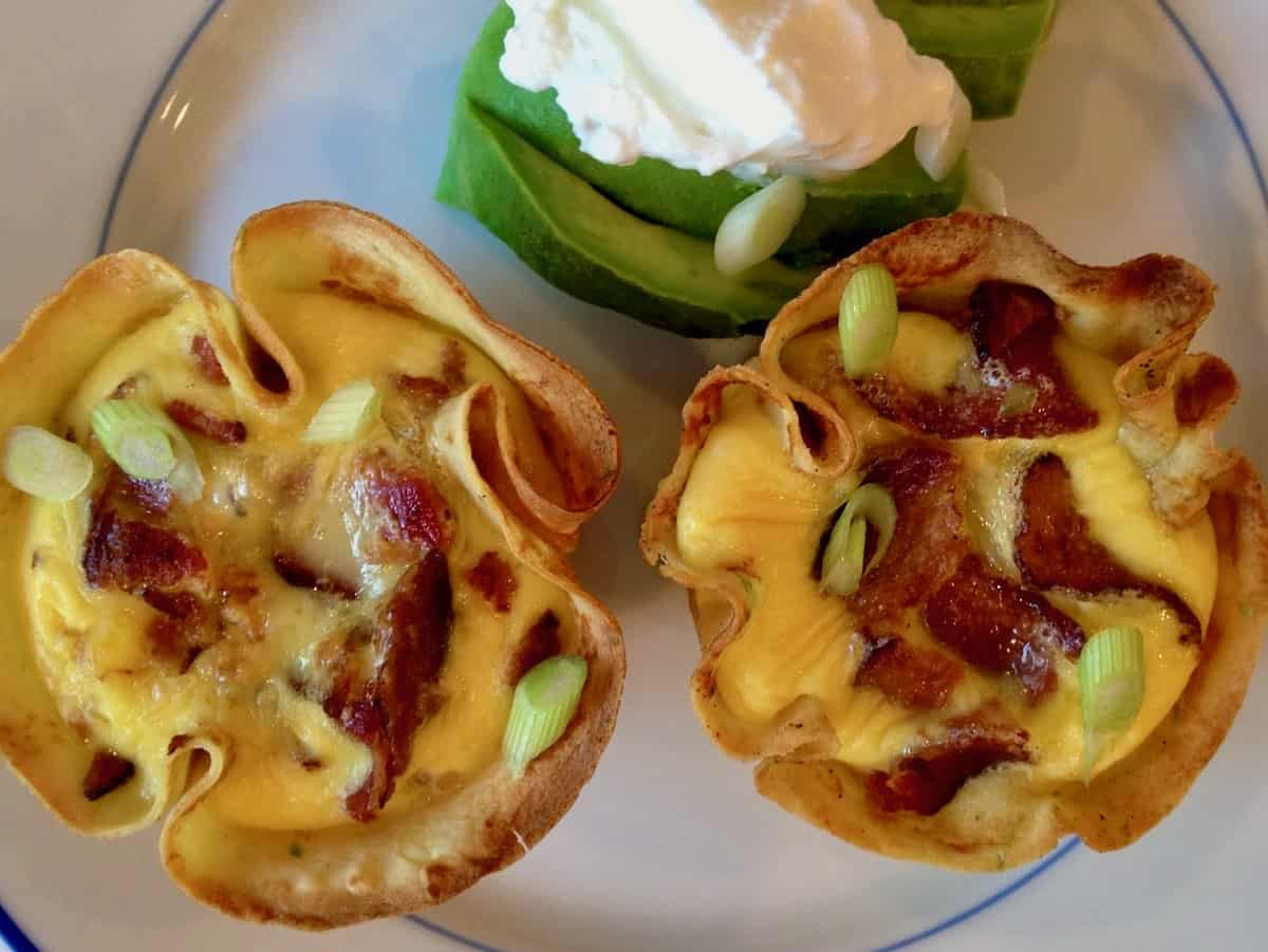 Sunday Brunch special crepe cups