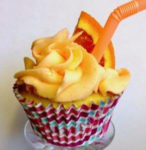 orange crush cupcake