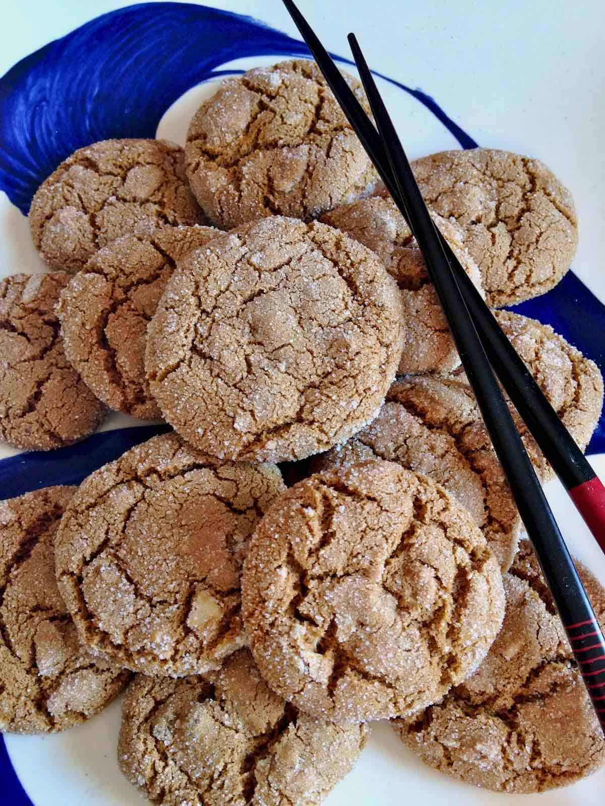 Five spice snap Cookie