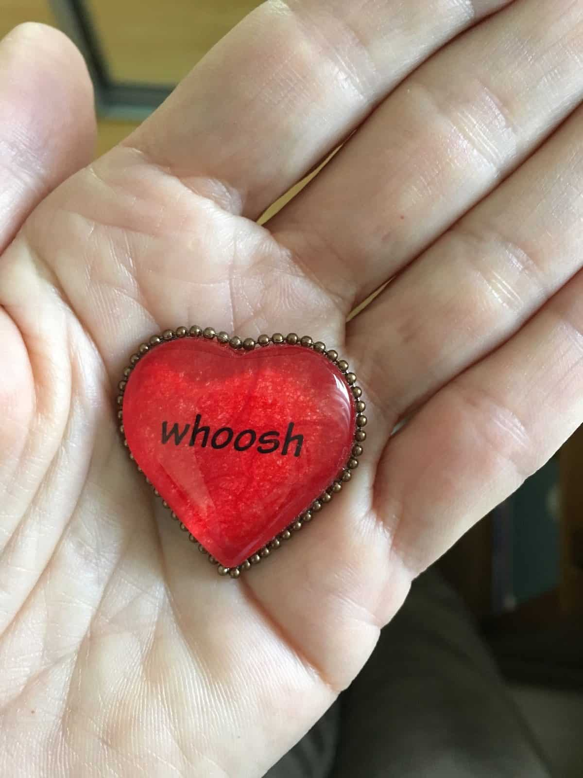 whoosh heart in hand