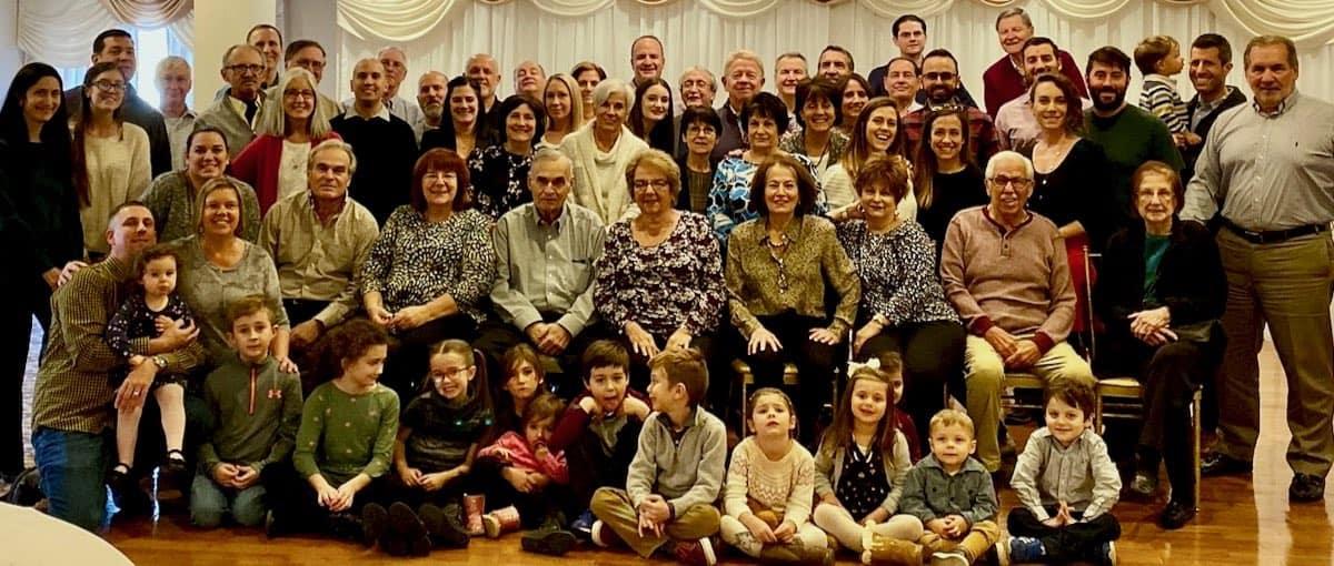 family reunion photo
