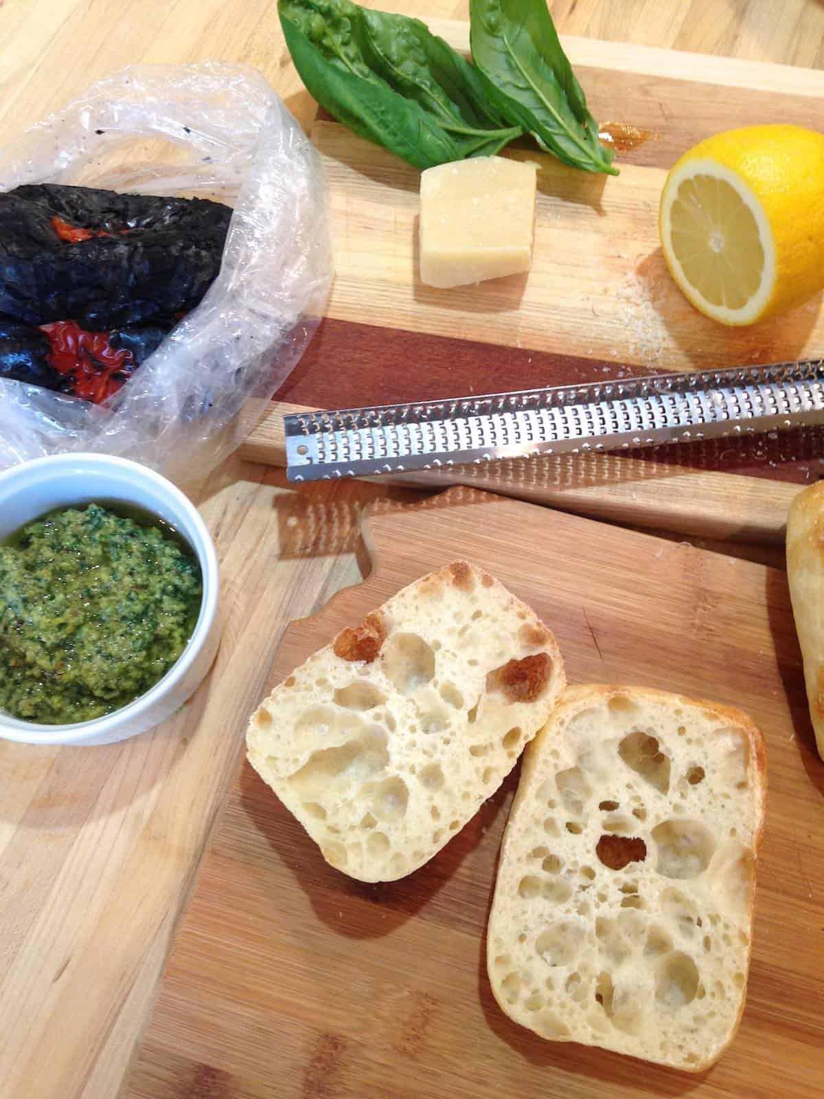 Italian sandwich ingredients