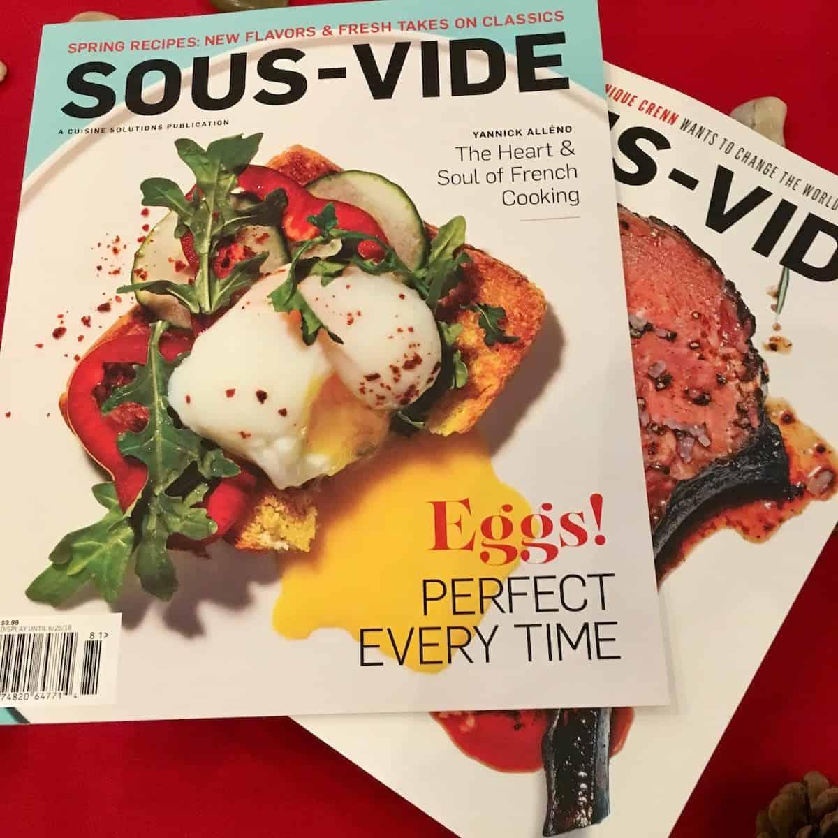 sous vide magazines