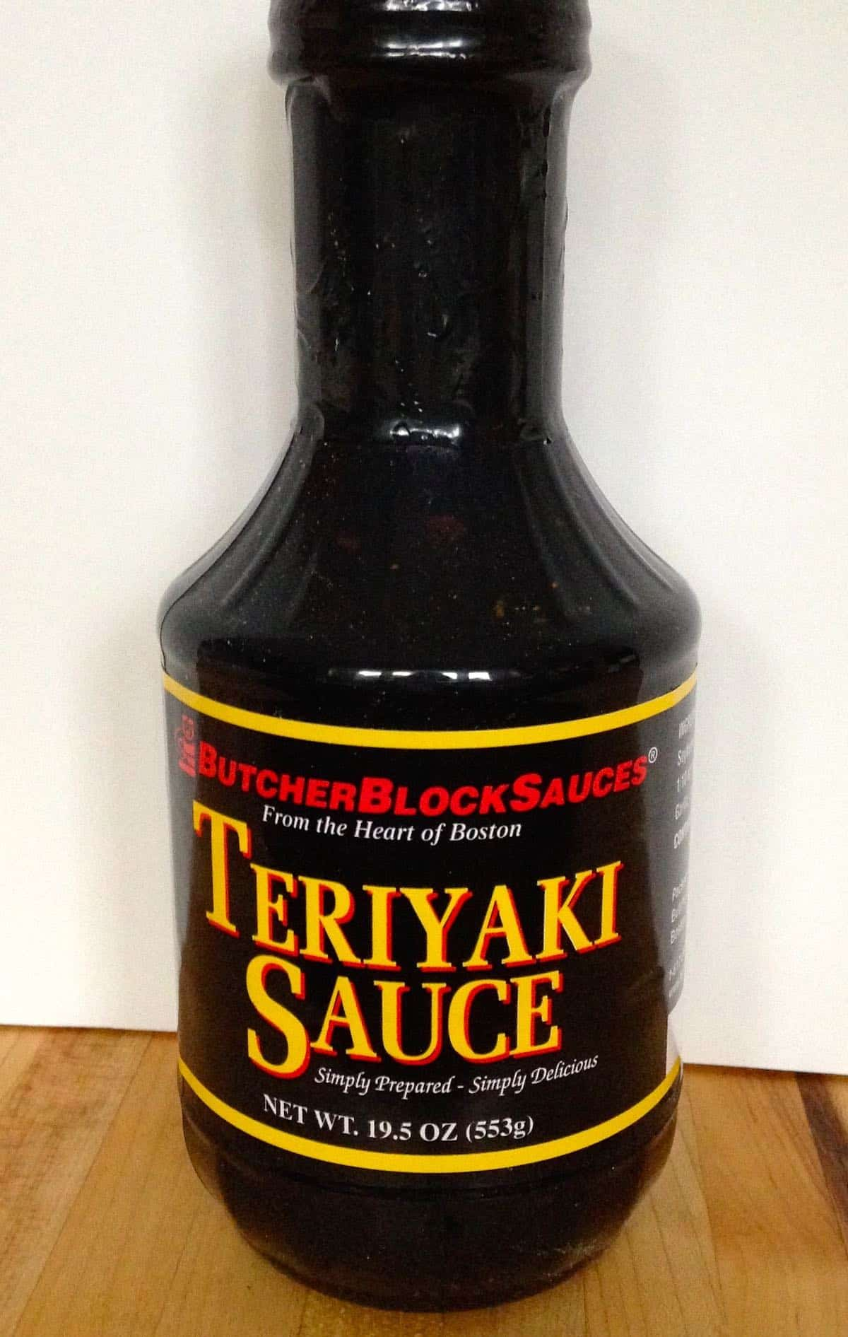 simply natural and delicious teriyaki sauce product