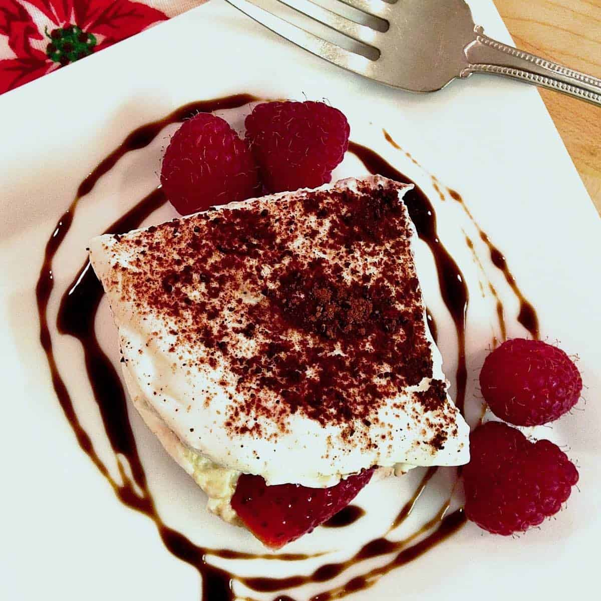 decadent without the guilt tiramisu
