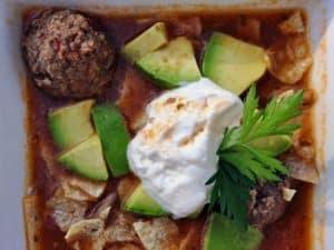 Meaty Mushroom Albondigas Soup