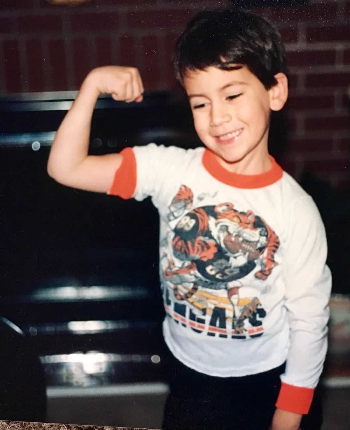 Will flexing his muscles
