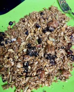 best hot honey granola