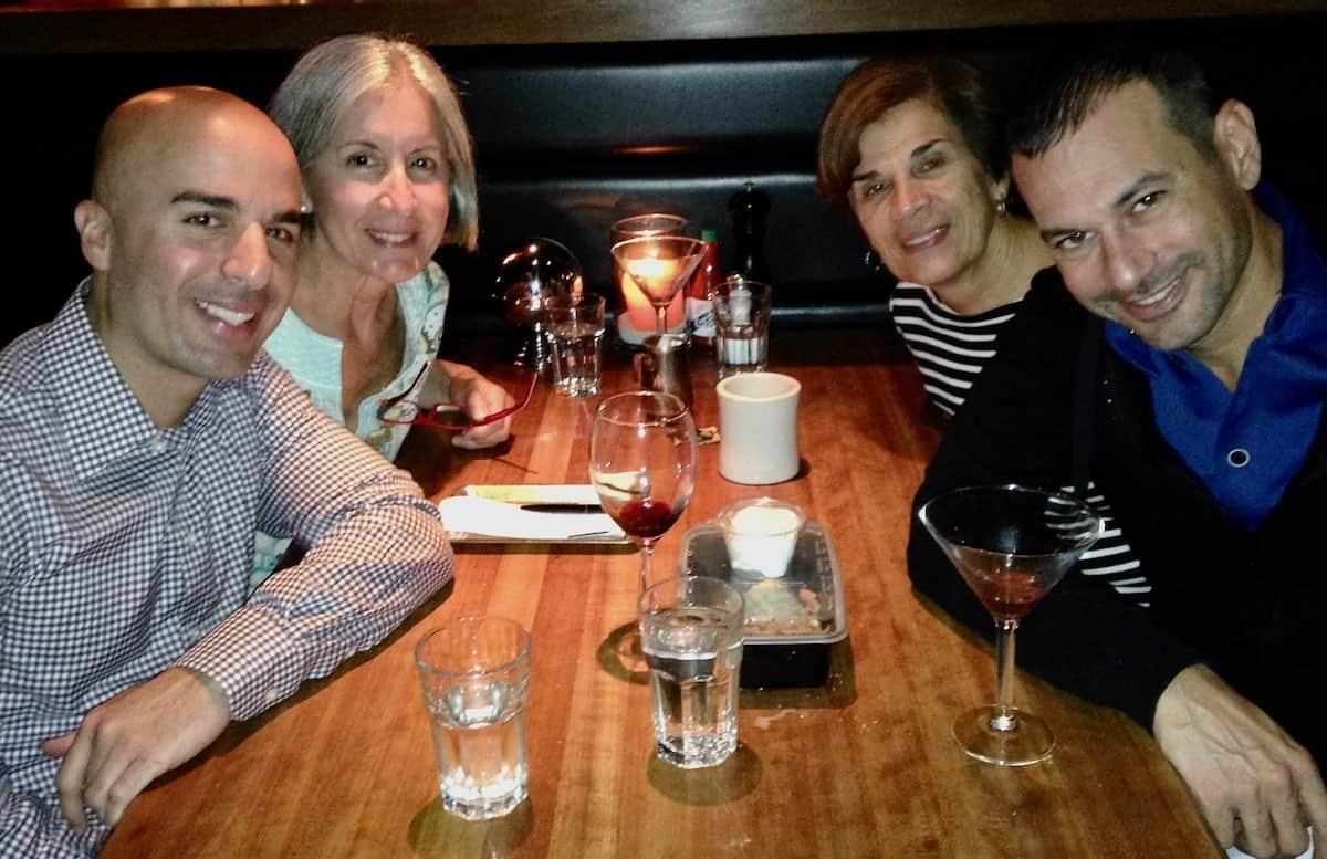 family time at dinner
