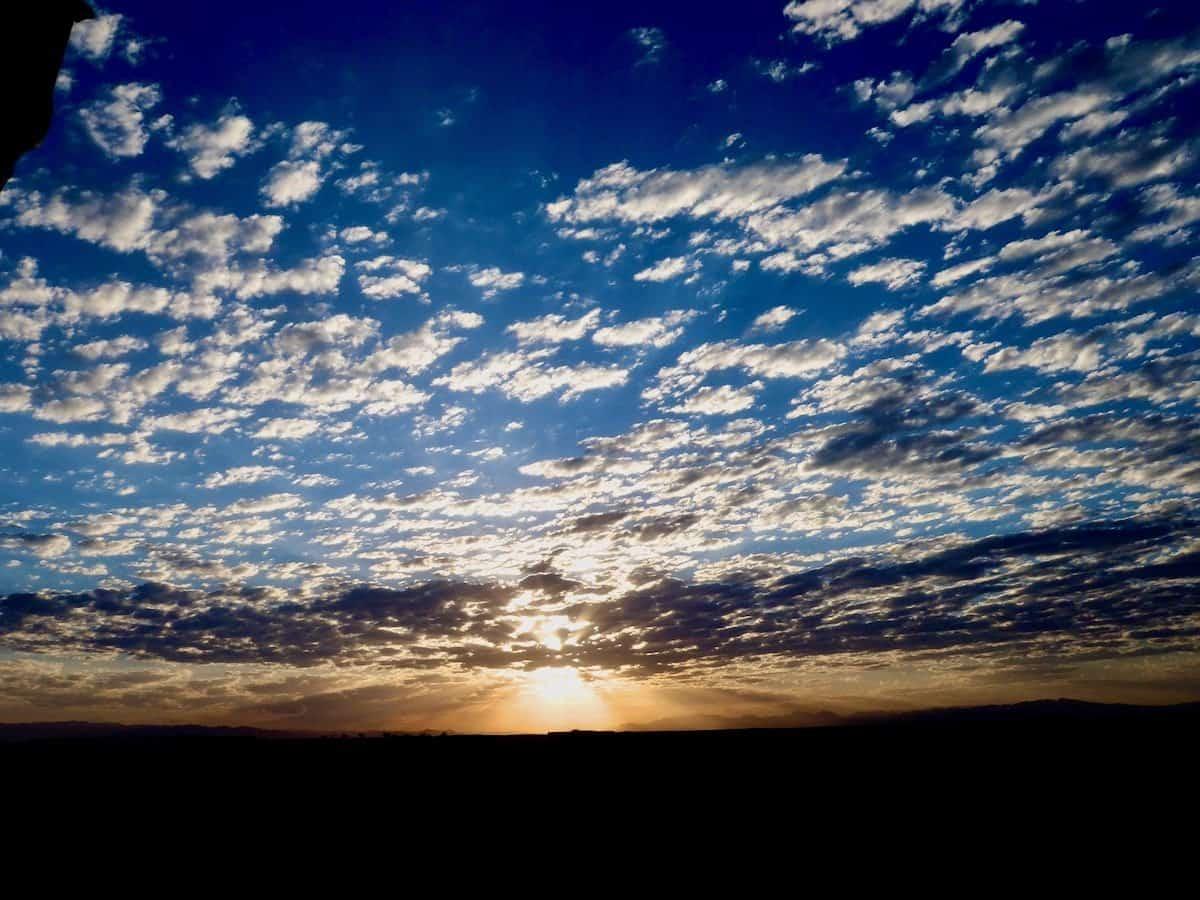 sunrise over Afghanistan: photo by William Keys