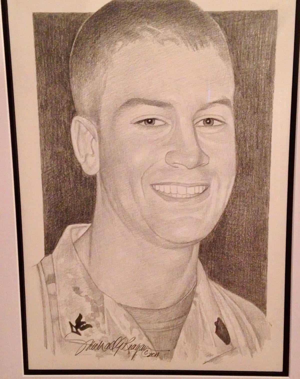 portrait of William by Michael Reagan