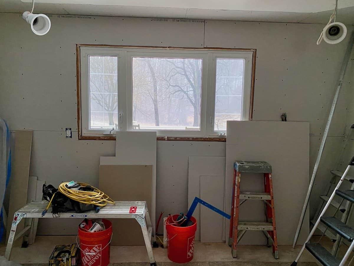 old kitchen window