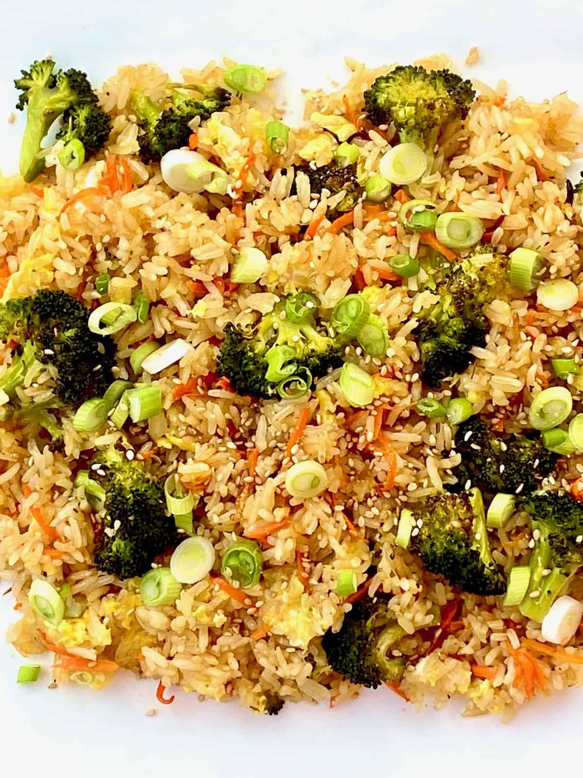 crispy ranch fried rice
