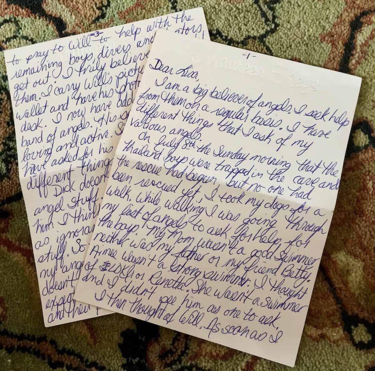 hand written letter is powerful