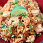 cantina style shrimp risotto